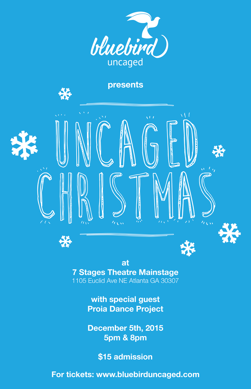 UncagedChristmas_2015_poster_FINAL